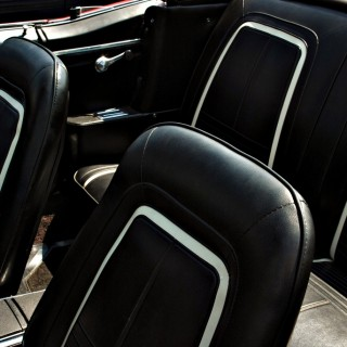 Custom Black Auto Interior